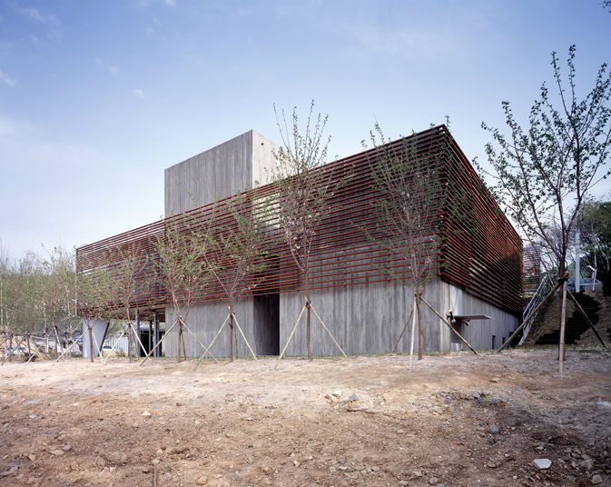 three box house, 3 box house, Byoung soo cho, Bcho architects, south korea, unique, contemporary design, cost effective architecture